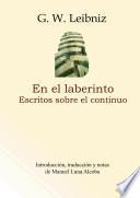 En el Laberinto: Escritos Sobre el Continuo