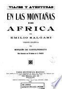 En las montañas de África