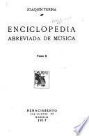 Enciclopedia abreviada de música