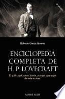 Enciclopedia completa de HP Lovecraft