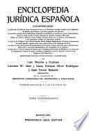 Enciclopedia juridica española ...