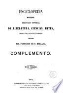 Enciclopedia moderna: (1864. 1079 p.)
