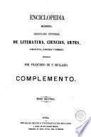 Enciclopedia moderna: (1864. 1083 p.)