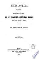 Enciclopedia moderna, 2