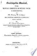 Enciclopedia musical por --- y de Lafage