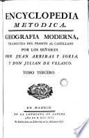 Encyclopedia metodica: geografia moderna, 3