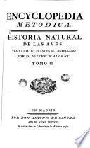 Encyclopedia Metòdica: historia natural de las aves, 2