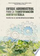 Enfoque agroindustrial para la transformación hortofrutícola: perspectiva de gestión operativa en fábrica