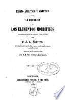 Ensayo analítico y sintético sobre la doctrina de los elementos morbíficos