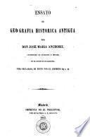 Ensayo de geografía histórica antigua