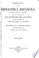 Ensayo de una biblioteca española de libros raros y curiosos: Q-Z. Suplemento. Últimas adiciones
