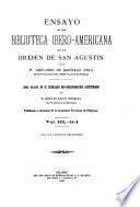 Ensayo de una biblioteca ibero-americana de la Orden de San Agustin