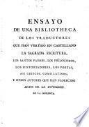 Ensayo de una bibliotheca de traductores españoles, 2