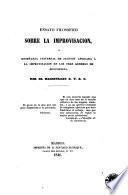 Ensayo filosófico sobre la improvisación o enseñanza universal de Jacotot aplicada a la improvisación en los tres géneros de elocuencia