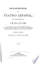 Ensayo histórico-crítico del teatro español