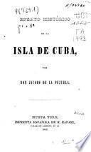 Ensayo histórico de la isla de Cuba