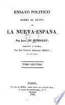 Ensayo politico sobre el reino de la Nueva-España