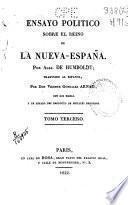 Ensayo político sobre el reino de la Nueva España