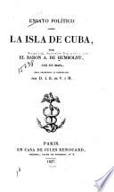 Ensayo político sobre la isla de Cuba
