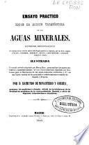 Ensayo práctico sobre la acción terapéutica de las aguas minerales