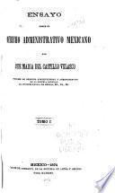 Ensayo sobre el derecho administrativo mexicano