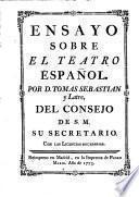 Ensayo sobre el teatro español