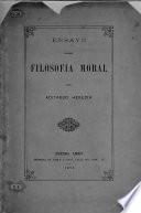 Ensayo sobre Filosofía Moral
