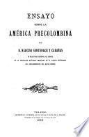Ensayo sobre la América precolombina