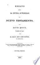 Ensayo sobre la divina autoridad del Nuevo Testamento