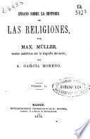 Ensayo sobre la historia de las religiones