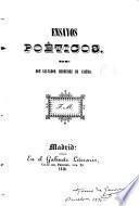 Ensayos poéticos de don Bermúdez de Castro Díez