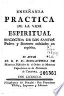Enseñanza practica de la vida espiritual