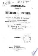 Enteralgiologia veterinaria ó Monografia especial del llamado cólico flatulento...