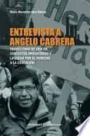 Entrevista a Angelo Cabrera