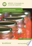 Envasado de conservas vegetales. INAVO109