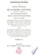 Epidemiología española