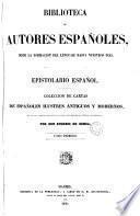 Epistolario español, 1 (Biblioteca Autores Españoles, 13)