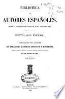 Epistolario español: (638 p.)