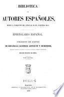 Epistolario espanol. Coleccion de cartas de Espanoles ilustres antiguos y modernos ; tomo 2