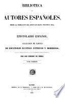 Epistolario español0