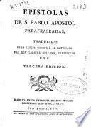 Epistolas de S. Pablo Apostol parafraseadas