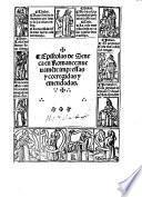 Epistolas de Seneca