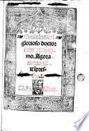Epistolas del glorioso doctor sant Hieronymo