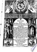 Epitome de la biblioteca :Oriental i Occidental, Nautica i Geografica