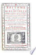 Epítome de la bibliotheca oriental y occidental, nautica, y geografica