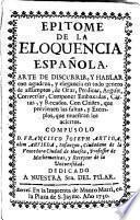 Epitome de la eloquencia española