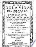 Epitome de la vida del bienaventurado S. Iuan de la Cruz, dotor mystico, primer carmelita descalzo ...