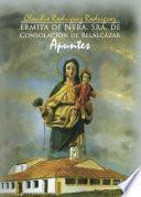 Ermita de Ntra. Sra. de consolación de Belalcázar. Apuntes