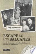 Escape de los Balcanes
