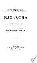 Escarcha, cón un prólogo de Manuel del Palacio